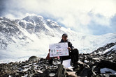 Alpinistas Saulius Vilius įkopęs į Everestą